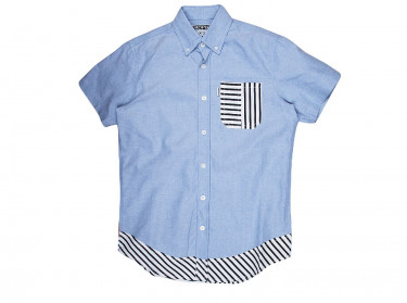 BETA S/S STRIPED WVN MN