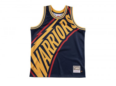 NBA BIG FACE JERSEY WARRIORS