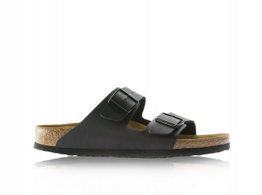 Mens Arizona Birko-Flor Sandals (Black)