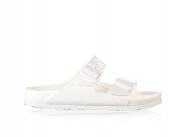Womens Arizona Eva Sandals (White)