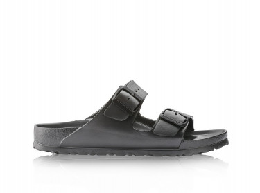 Mens Arizona Eva Sandals (Metallic Anthracite)