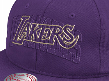 Mitchell & Ness Mens 6MUSJS18242-LALDKPR Nba Capthony Towns Deadstock Snapback Hwc Lakers Accessories