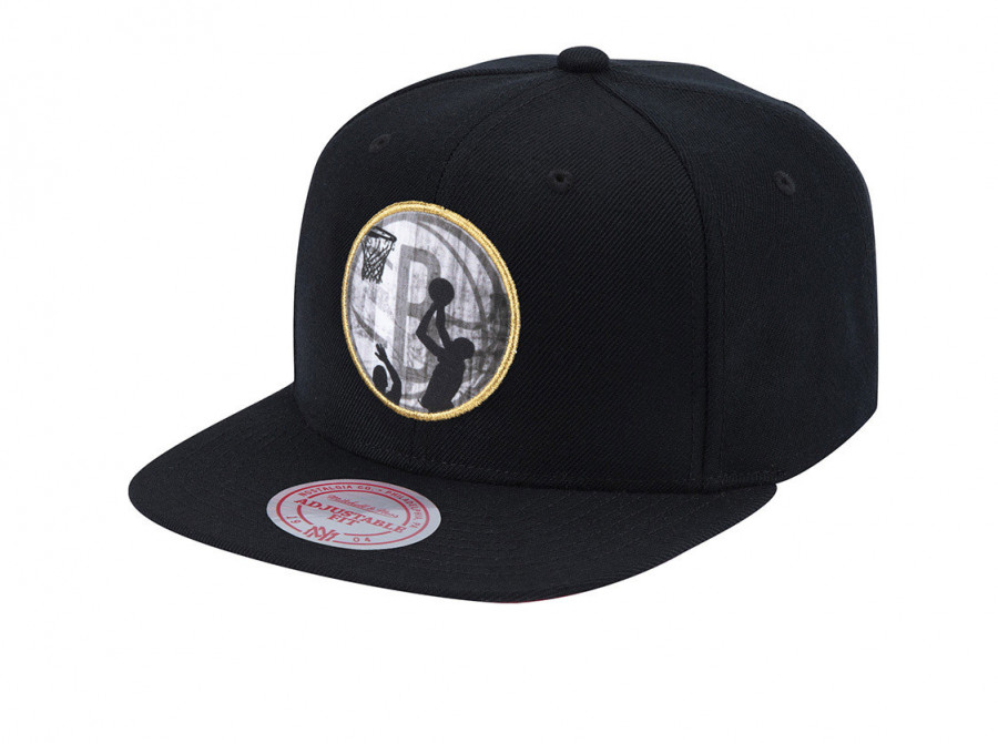 Mitchell & Ness Mens 6HSSMM19031-BNEBLCK Lookout Snapback Accessories