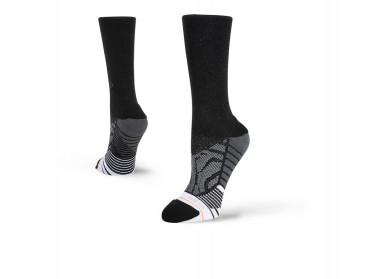 Stance Unisex W558C18SHB Shiny Black Crew Accessories
